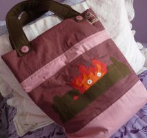 Calcifer's bag by Andy-Mii