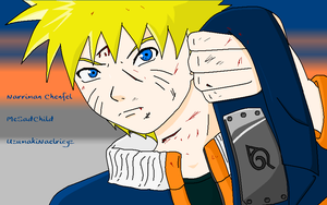 A 1h and 30 sec Naruto on MS Paint by MeSadChild