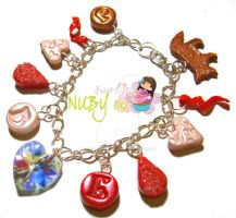 ECLIPSE - charm bracelet by colourful-blossom