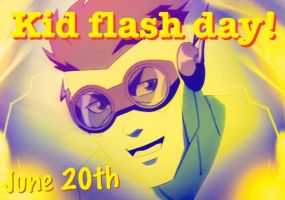 Kid Flash Day idea by siyana99