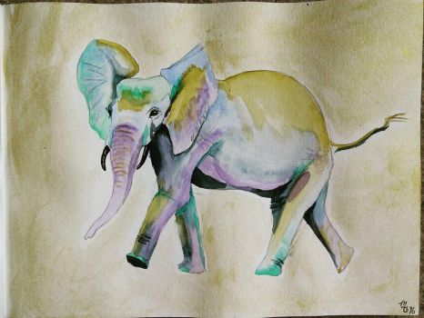 MaryGrace's Elephant by CYDA-LUVA83