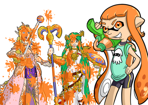 Splatoon by SpacePirate815
