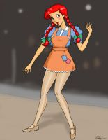 Hoedown Ariel Color by Anime-Ray