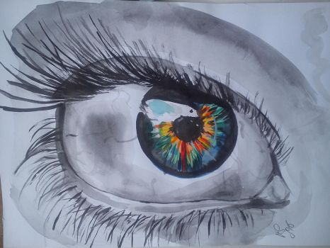 Eye of colour by another-awesome-girl