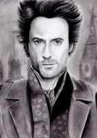Robert Downey Jr As Sherlock Holmes by izziwizVIII