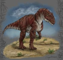 My allosaurid self #2 by c-compiler