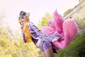 League of legends - Ahri (pop star) by Mari-Evans