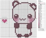 Panda by Makibird-Stitching