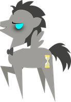 Simple Discord!Doctor Whooves Vector by demonreapergirl