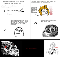 Rage comic, The pinni by Brassia