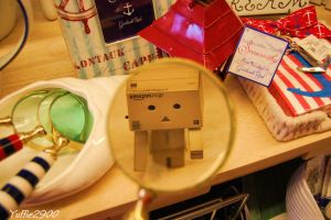 Danbo under surveillance ..... by Yuffie1972