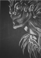 Ryuk - Death Note by spooky-amateur