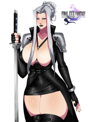 Sephiroth Genderbend by MugenIllustrations
