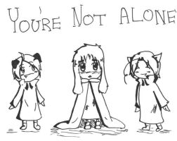 APH: Your Not Alone by girlyanimegal