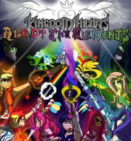 Kingdom Hearts: Rise of the Elements Cover by TheSpiritShift