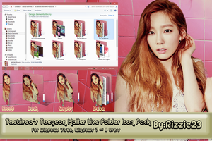 Taetiseo's Taeyeon Holler Live Folder Icon Pack by Rizzie23