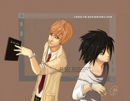 Death Note remix: Raito and L by Lokklyn