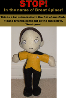 Data Plushie by Data-Fans