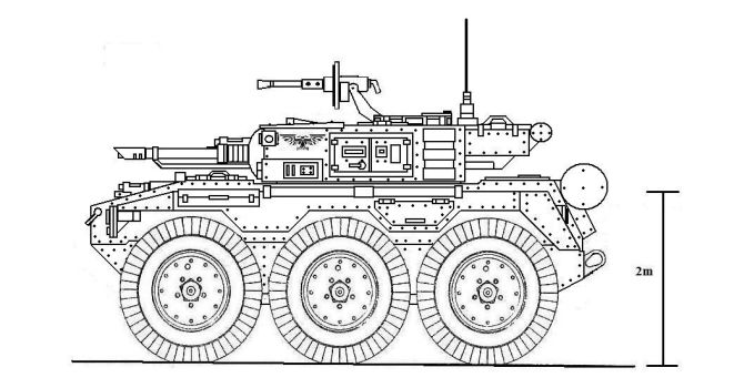 Hussar 6x6 Tank Hunter-2 by 2kuhl4you