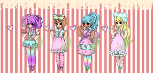 Fairy Kei Adopts: ONE LEFT by 8BitSnake