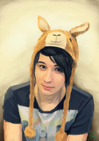 Dan Howell by MissLillyArt