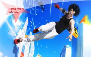 Mirrors Edge Wallpaper by Shenkal