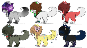 10 Point Adoptable Puppers (CLOSED) by Crazycat615