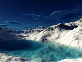 Terragen - Winter by duris