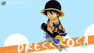 One Piece 1 Dressrosa (Luffy) - 1920x1080 by PugPrime