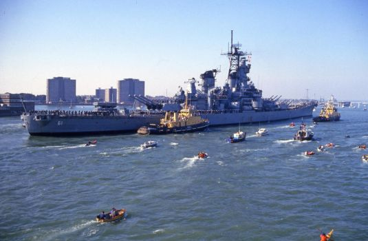Iowa enters Portsmouth by omick