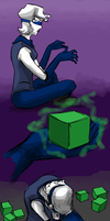 Homestuck - Summoning Cubes by MissCaltra