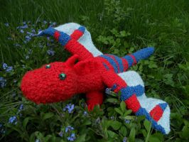 Crochet Dragon by Twinsmanns