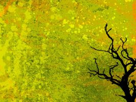 Grunge Tree - 3 by aaron4evr