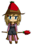 [AT] Chibi Strawberry Witch by izka197