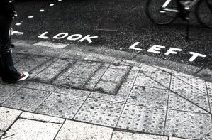 look left by Ditze