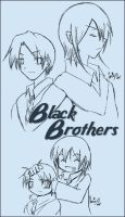 Black Brothers by prongsie