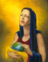 Mother Angelina by umetnica