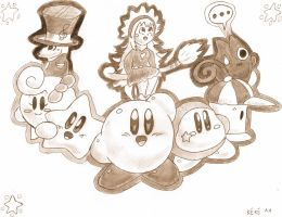 Kirby's dream friends by keke74100