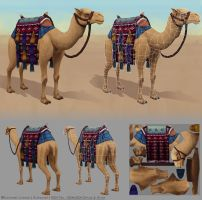 Camel Mount by Alemja