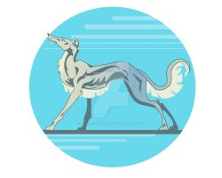 Greyhound by Cerberus-Dragonfly