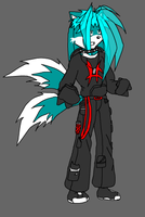 Fursona done by a NG Game by Mecha-fox-cat-rabbit
