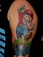 super mario by mrstaggerlee