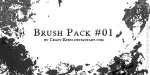Brush Pack 01 by Crazy-Kiwii