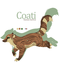 Coati for Kiaby by Kanbhik