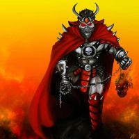 Shao Kahn by Blackknight1987
