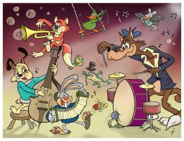 Jazz Animals by HammersonHoek