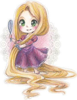 Rapunzel by Marmaladecookie