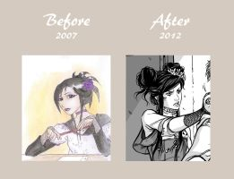 Fressande : Before . After by Ludimie