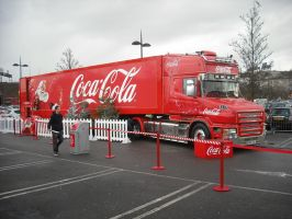 Coca-Cola Christmas Truck by betterwatchit