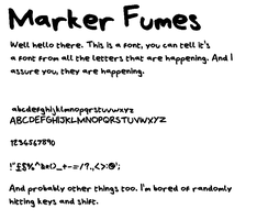 Marker Fumes by CyrilTheWizard